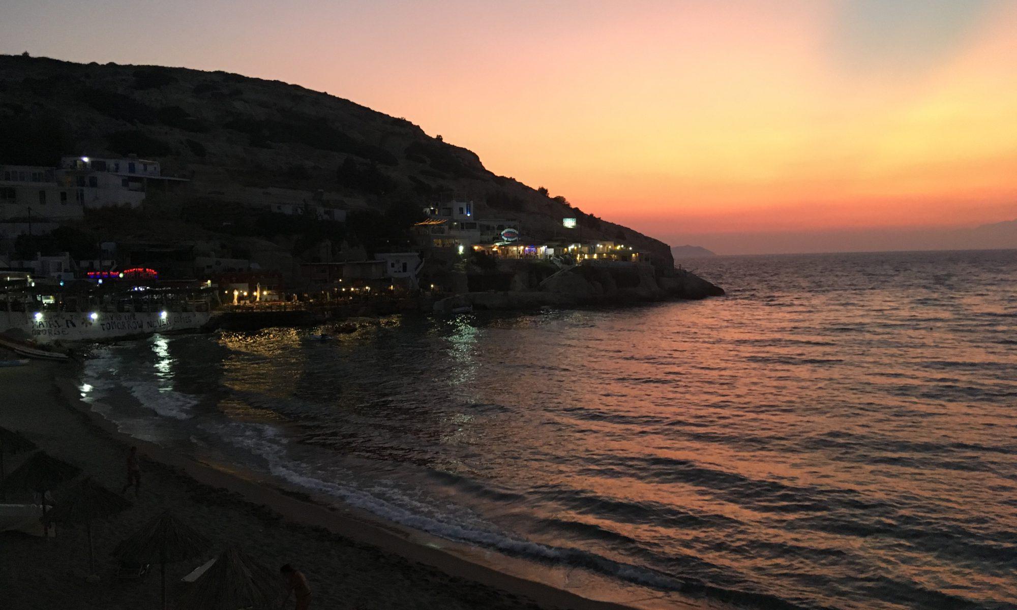 Mátala, Kreta